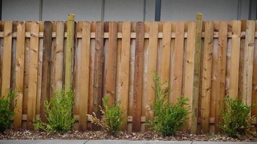 Wood fencing Houston